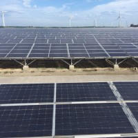 Taiwan's largest solar park begins electricity production