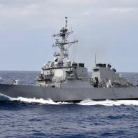 兩美艦行經臺海 總統府:有助於區域安全穩定