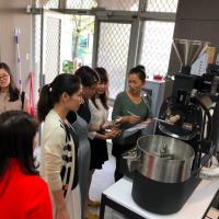 崑山科大開新住民咖啡課程 拉花、烘焙、沖煮難不倒