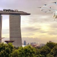 飛天小黃不是夢 新加坡明年試飛空中計程車