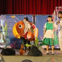 提倡海洋環保少用塑膠 弘光幼保編兒童劇巡迴偏鄉義演