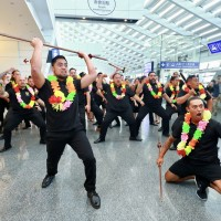 Maori dance troupe arrives in Taiwan for upcoming Taichung Flora Expo