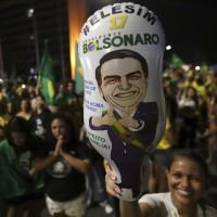 「巴西川普」波索納洛當選總統 各地爆發支持者反對者衝突