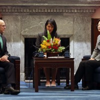 接見美智庫訪團 蔡英文:臺灣是值得信賴的夥伴