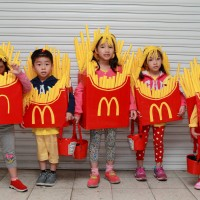 Photo of the Day: Small fries spotted in Taipei during Halloween