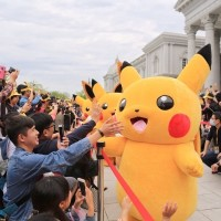 65,000 trainers attend opening day of Pokémon GO event in southern Taiwan