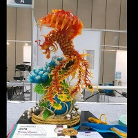 'Fire Phoenix' sugar sculpture by Taiwan artist damaged and reborn as winner at world food championships