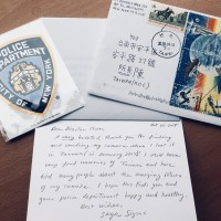 Taiwan police receives letter from New York to thank them for finding camera