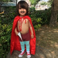 Boy's Nacho Libre costume wins Taiwan News Halloween Photo of the Day Contest