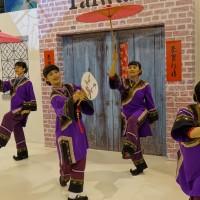 全球第二大倫敦WTM旅展 台灣館展現「小鎮」風情