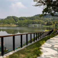 Green Grass Lake Park in Taiwan's Hsinchu City inaugurated