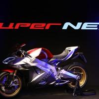 Taiwan's Kymco debuts electric superbike at Milan Motor Show