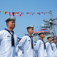 Photo story: Taiwan commissions two frigates into Navy