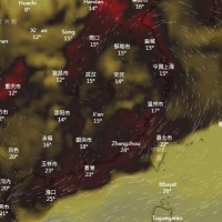 Red air pollution warning still in place for central, southern Taiwan