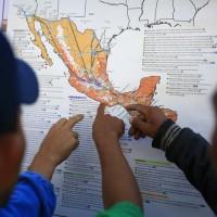 中美移民集團頭陣離開墨西哥城 繼續往美墨邊境前進