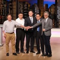 台北市長電視辯論會 5位候選人首次到齊
