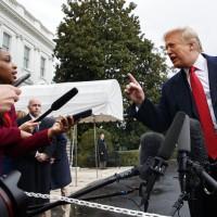 川普怒罵CNN記者:這是什麽愚蠢的問題?