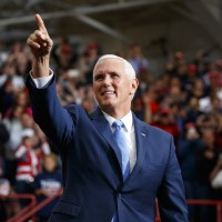 File photo: U.S. Vice President Mike Pence