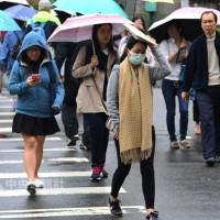 12至15日東北風增強 北部與東半部天氣偏涼、易下雨