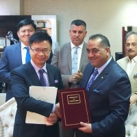 Taiwan and Iraq ink agreements to support cooperation, reconstruction