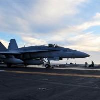 【快訊】美軍F-18戰機 訓練中墜落沖繩外海
