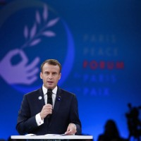 馬克宏:歐洲要自己做武器!