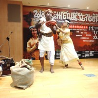 舞者演繹動人愛情故事 印度文化節活動週末展開