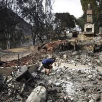 加州森林大火更新:仍有20萬人被迫離家避難