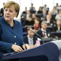 梅克爾支持歐洲軍構想 強調可保證歐洲各國間永久和平
