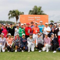 Second annual 'Taiwan Mobile Ladies Open' takes place in New Taipei