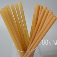 Sugarcane straws. (Photo from @100plasticfree Facebook page)