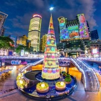 New Taipei City Christmasland. (Image from New Taipei City government)