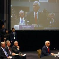 美副總統彭斯對ASEAN領袖表示:南海不屬於任何國家