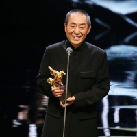 GOLDEN HORSE: China's Zhang Yimou takes best director award