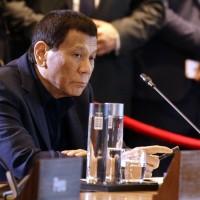 菲律賓總統杜特蒂(圖/美聯社)