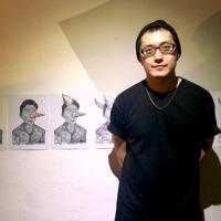 香港油麻地兇殺案入創作 台塗鴉藝術家糖果鳥探都市暴力