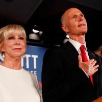 佛州期中選舉重新計票結果 共和黨參議員史考特確定勝選