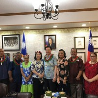 Taiwan's Foreign Minister visits Marshall Islands to celebrate 20 years of diplomatic ties
