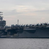The USS Ronald Reagan.