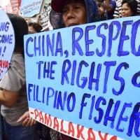 菲民抗議習近平來訪聲中 中菲簽南海油氣合作開發協議