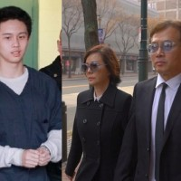 Taiwan terror suspect's celeb parents may need to pay more fines when he returns