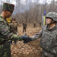 南北韓軍隊連通38度線內道路