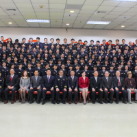 Taiwan National Immigration Agency's 'new generation' awarded in graduation ceremony today