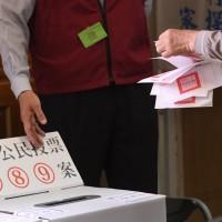 選民撕毀公投票 最高可處5萬元罰鍰