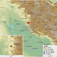 兩伊邊界也傳6.3強烈淺層地震 已知1死500人輕重傷