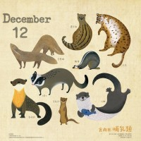 Taiwan Forestry Bureau launches limited edition animal calendar
