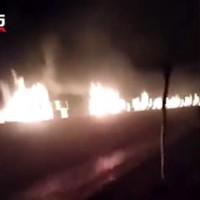 【突發】河北張家口化工廠大爆炸 22死22傷燒毀50車