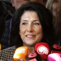 前蘇聯區首例!喬治亞選出第一位女總統