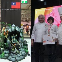 Amateur Taiwanese culinary artist wins gold for her elaborate edible creation in international competition