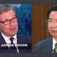 選後接受半島電視台專訪 吳釗燮:台灣堪稱區域民主楷模